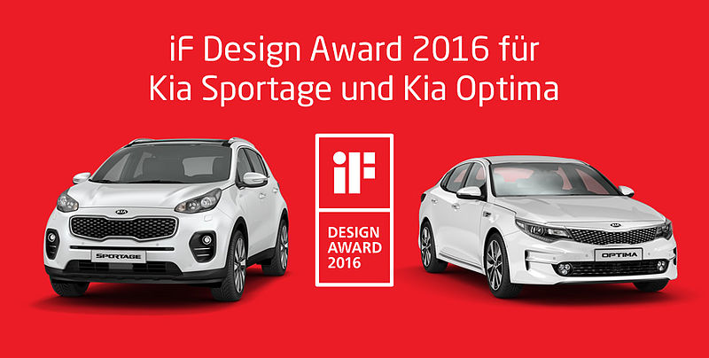 iF Design Award 2016 für Kia