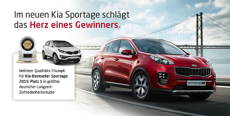 J.D. POWER AWARD 2016 FÜR KIA